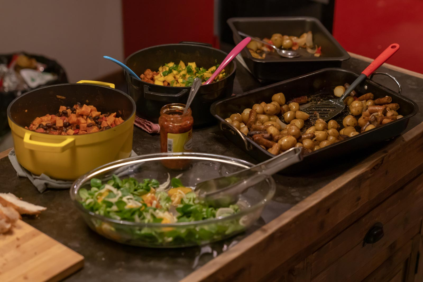 Dinner at Gam Studio