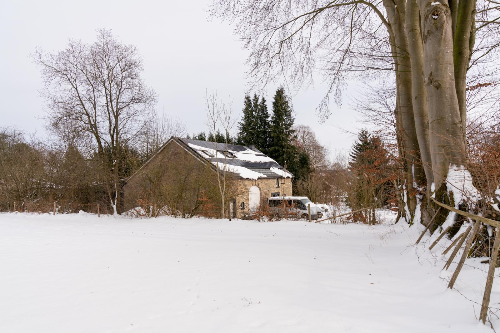 Gam Studio in a snow landscape