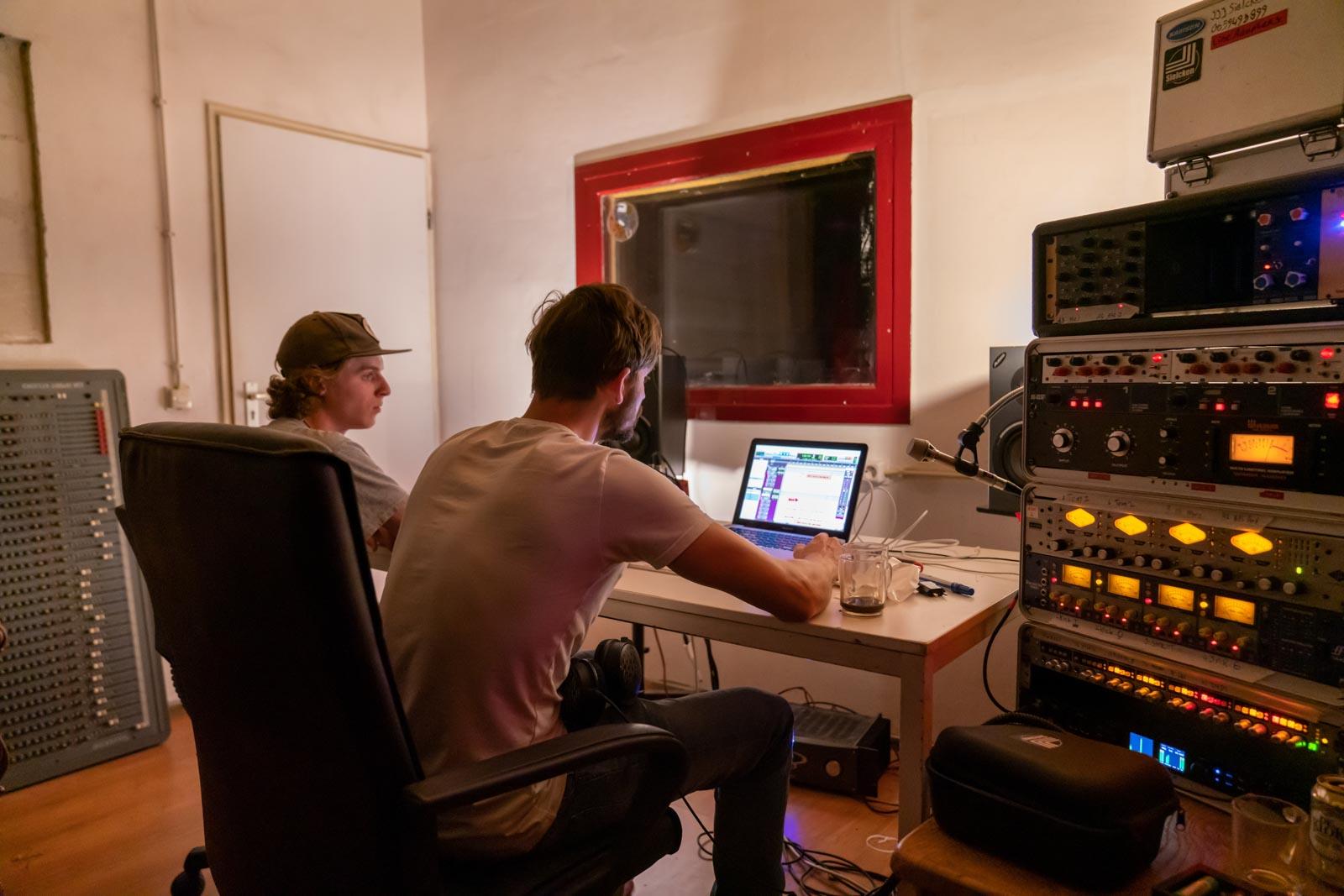 The Koalaz at Mutopia Twin Sound Studio