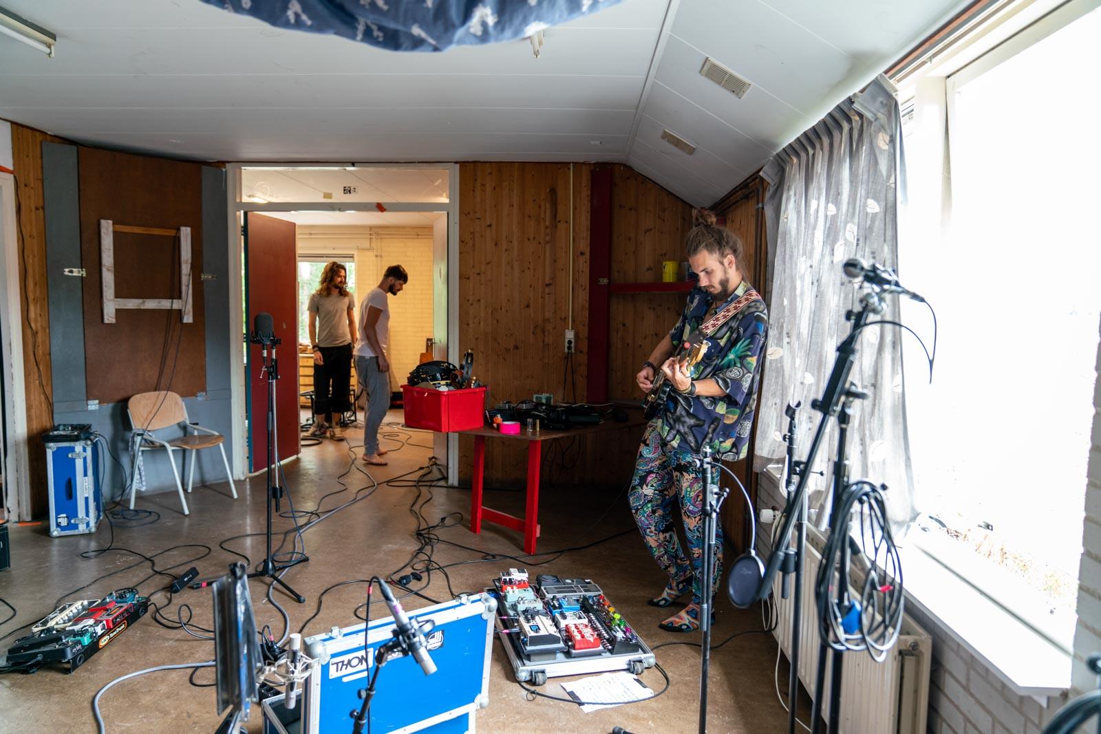 PsySo recording live at Castricum