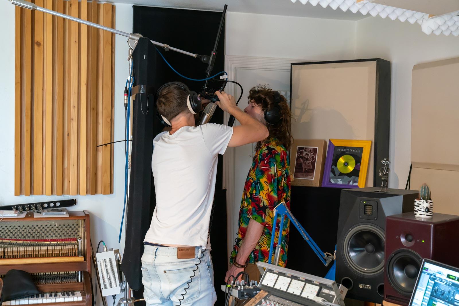 PsySo recording at JJJ Sielcken Amersfoort